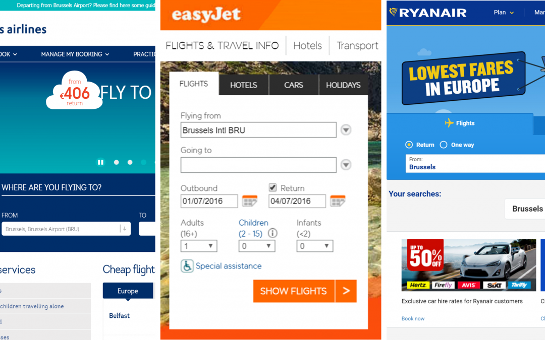 Low-cost airlines: is usability included in the price?