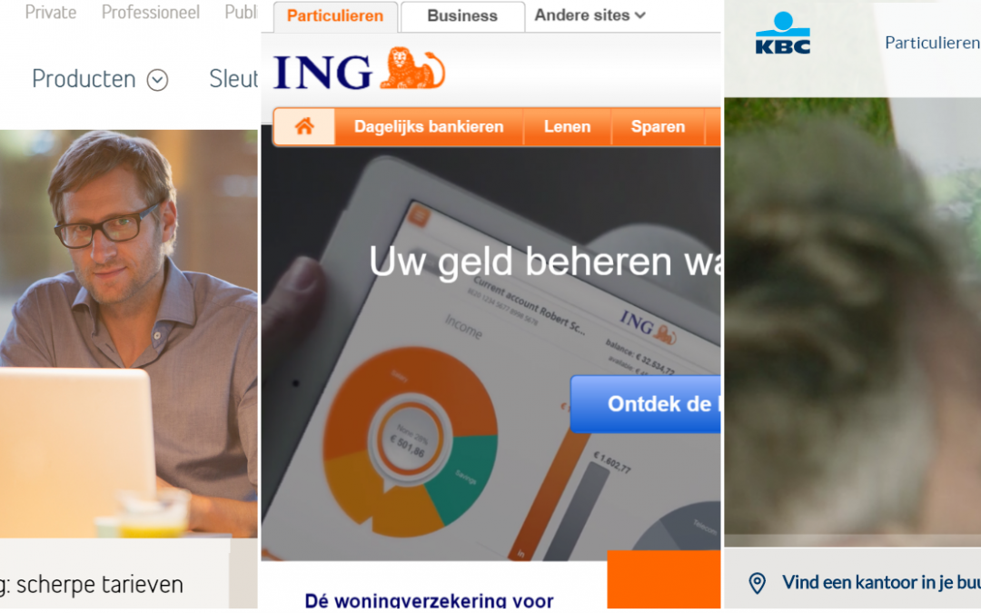 Which Banking Website Is The Most User Friendly? 3 Belgian Banks Tested