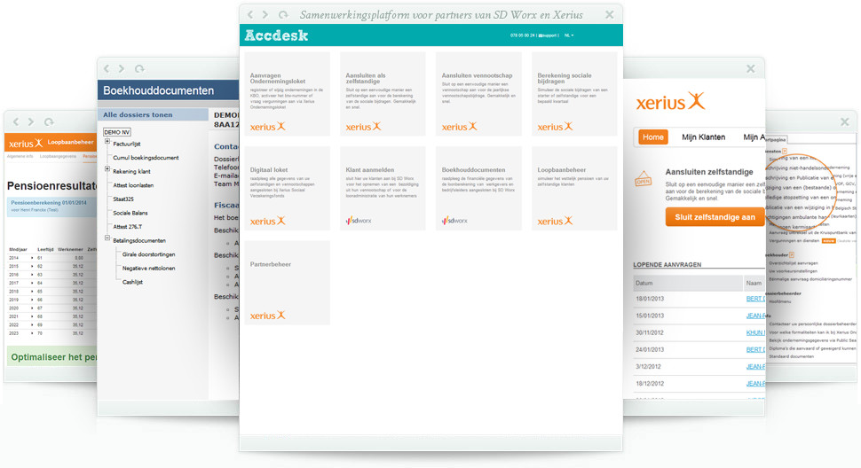 Xerius App Accdesk Overview