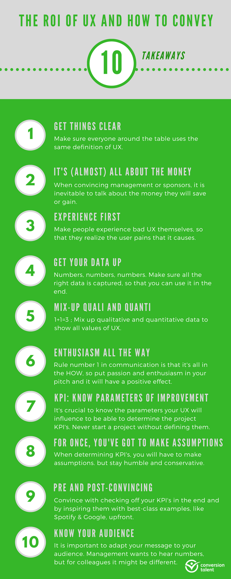 ROI of UX and How to Convey